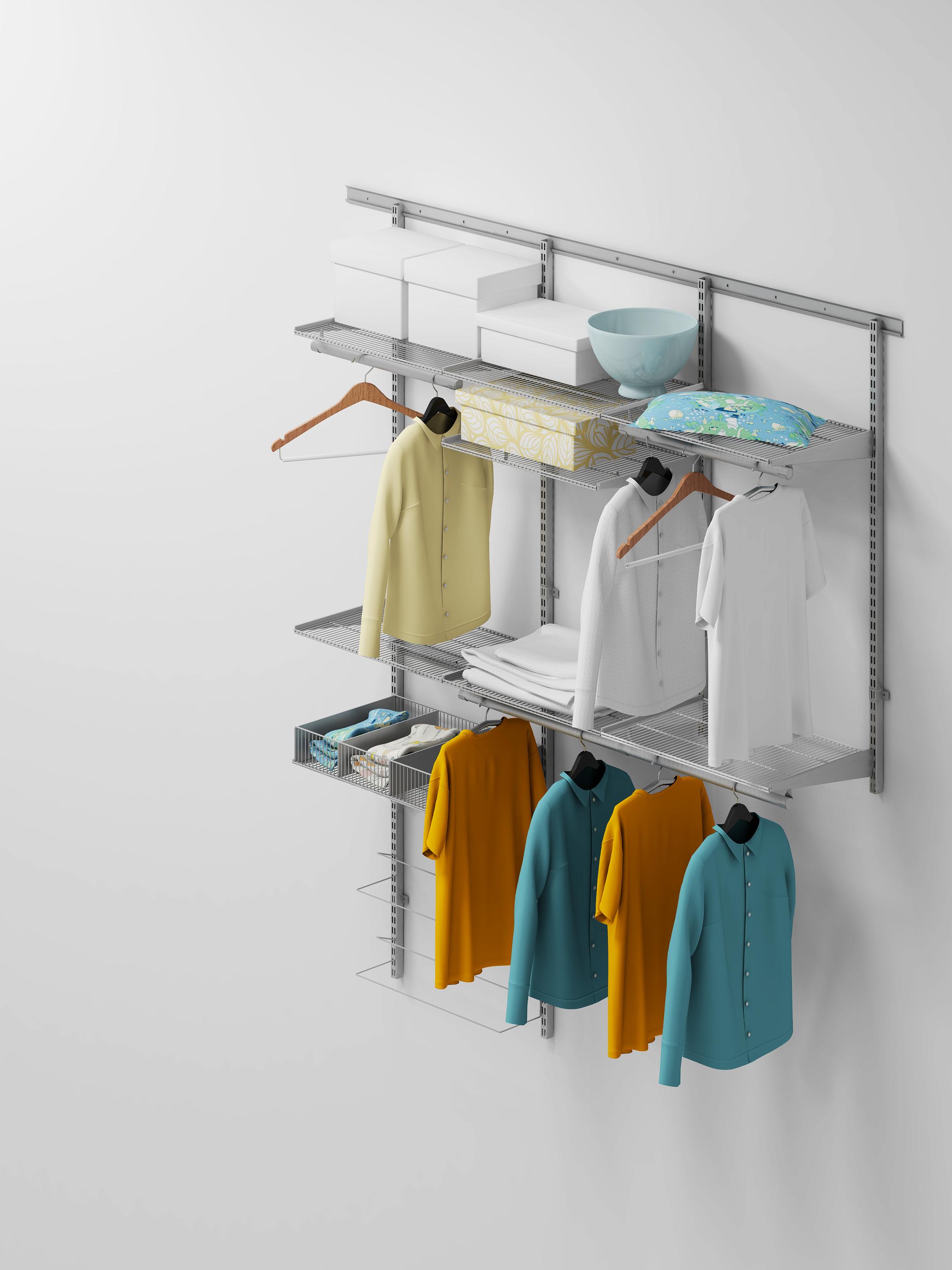 Комплект гардеробной системы 1 везу мебель.