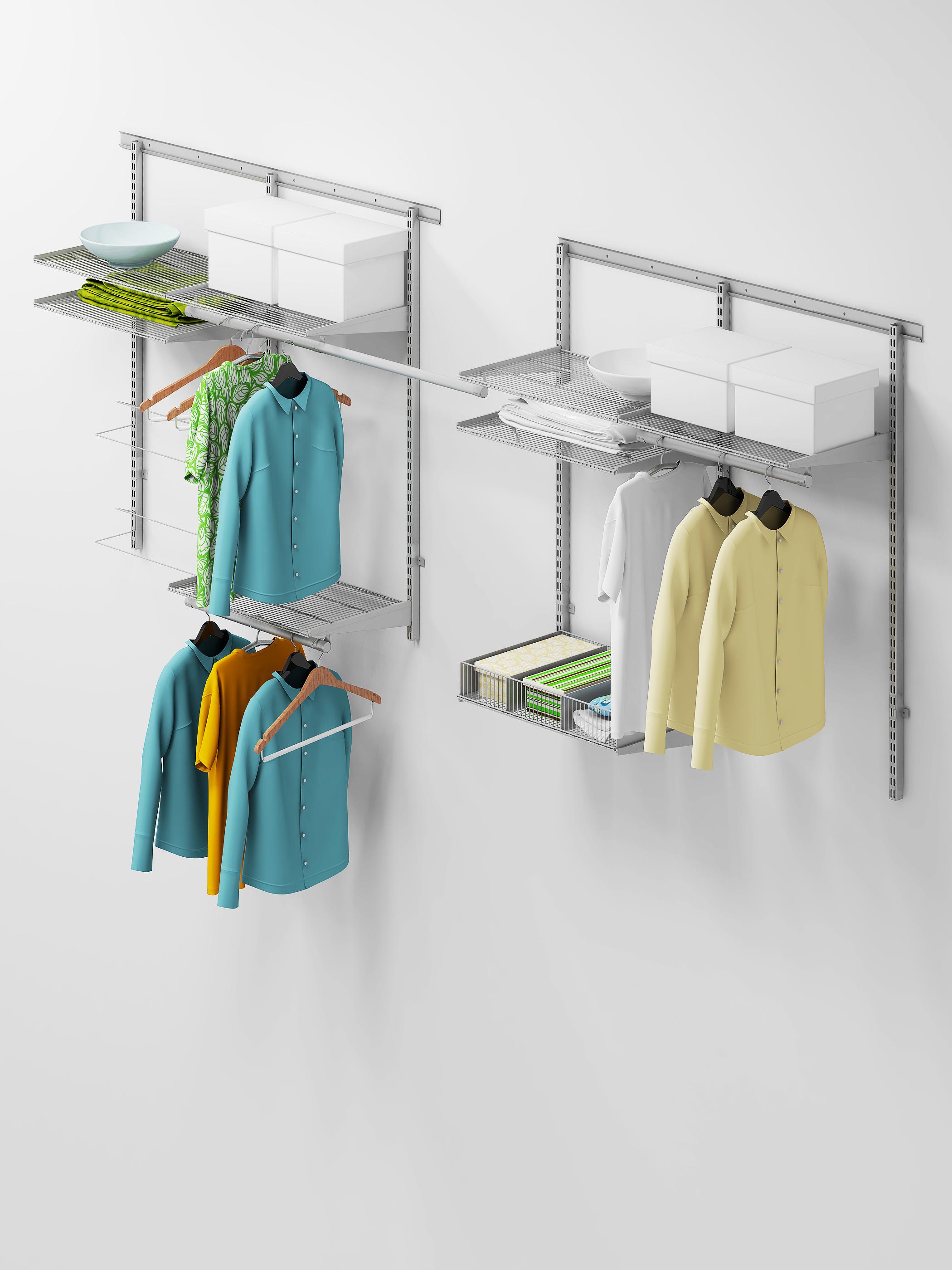 Комплект гардеробной системы aristo 1.